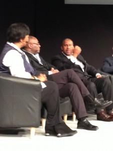 Session I Panel - Dr. Mae Jemison, Tom Adams, Tavis Smiley, Kanyi Maqubela, and Sheldon Gilbert