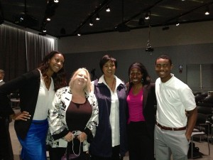 The Tom Adams Project team with Dr. Mae Jemison